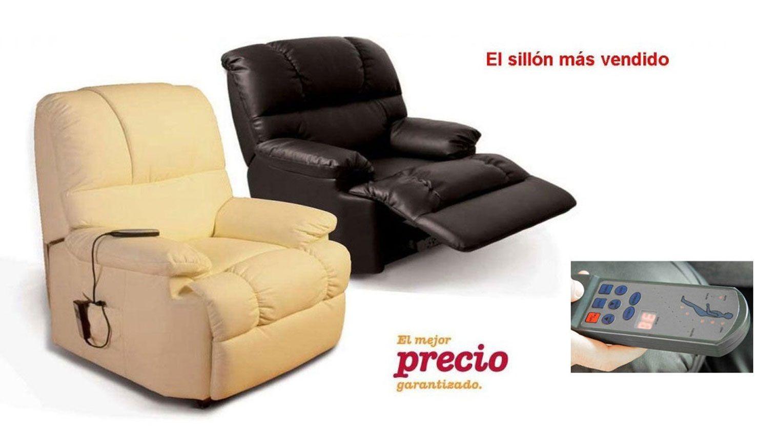 Sill n relax masaje sillones relax for Sillones de dos plazas baratos