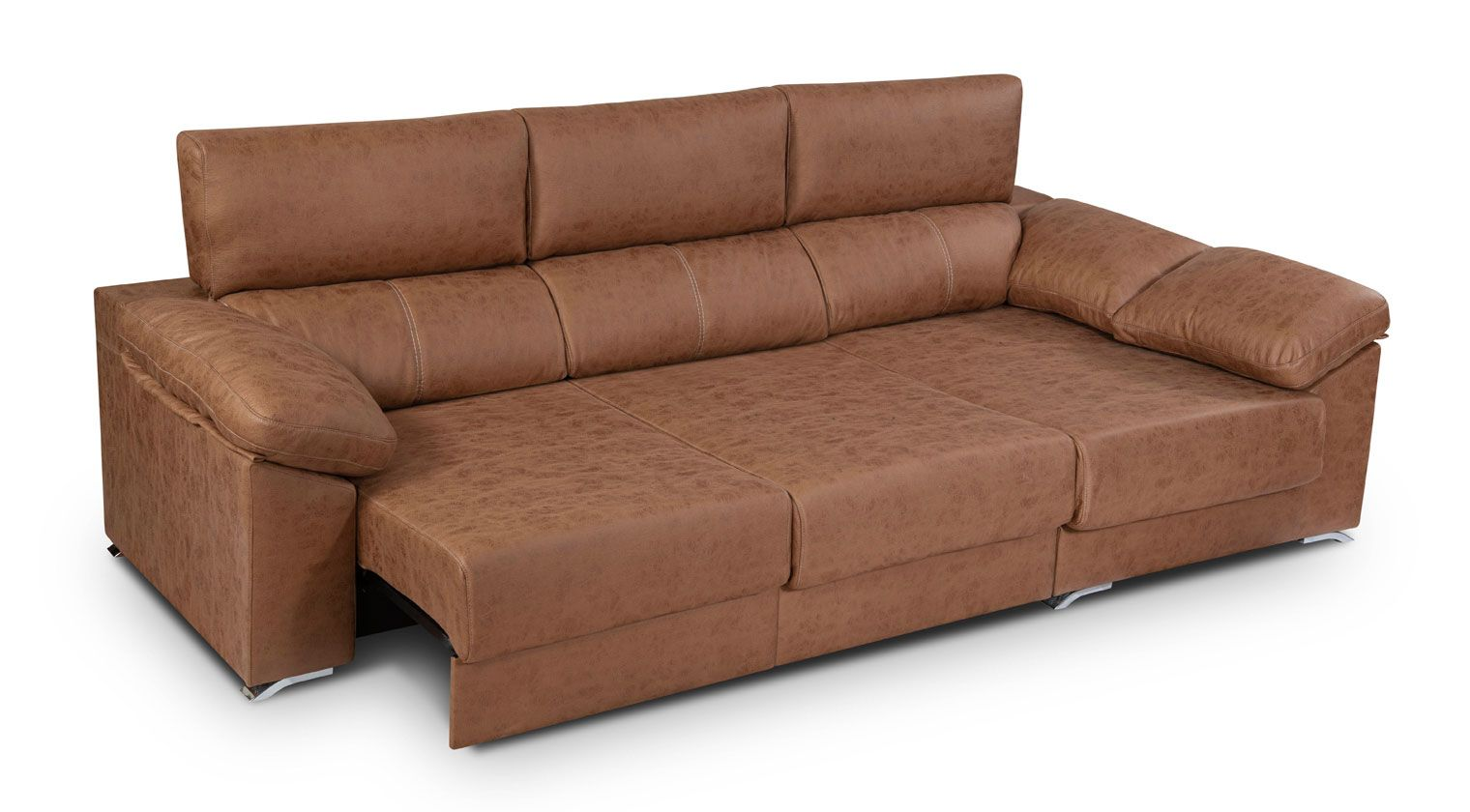 Comprar chaise longue tela lleida mod sofa 3 plazas chaise for Sofas baratos alicante