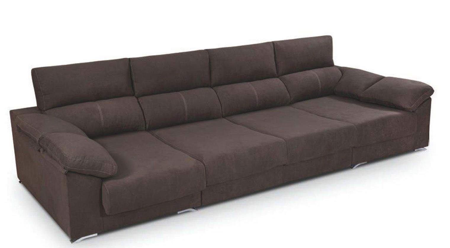 Chaise longue tela lleida chaise longue tela for Sofa cama 4 plazas