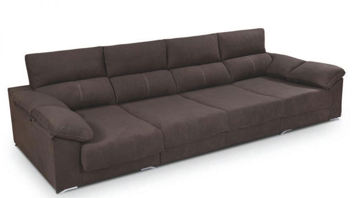 Comprar chaise longue tela lleida mod sofa 3 5 plazas for Sofa 4 plazas mas chaise longue