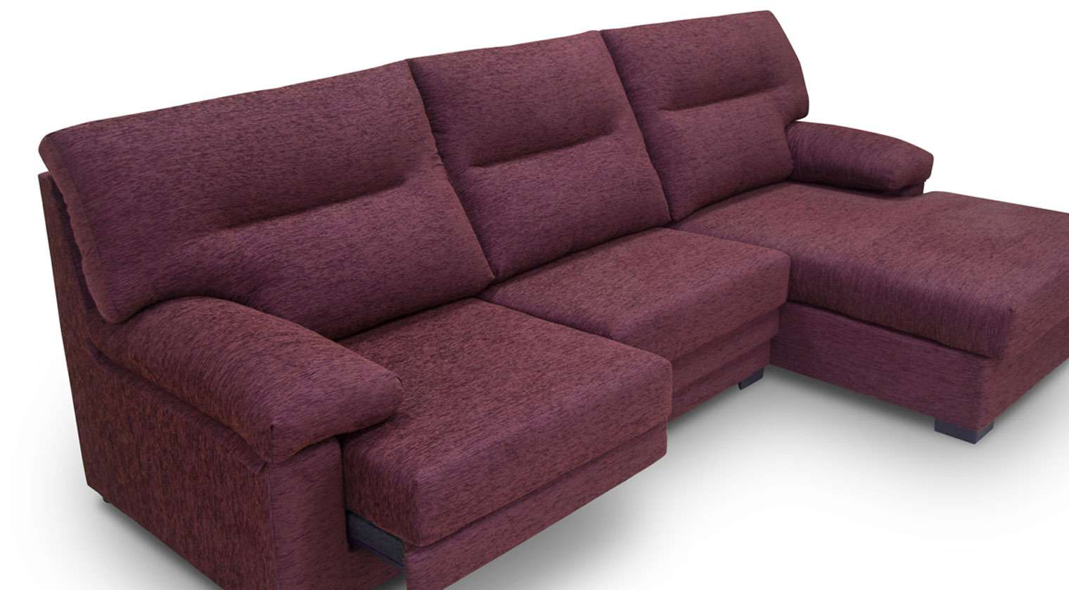 Comprar chaise longue tela ceres mod 3 5 plazas chaise for Sofas baratos asturias
