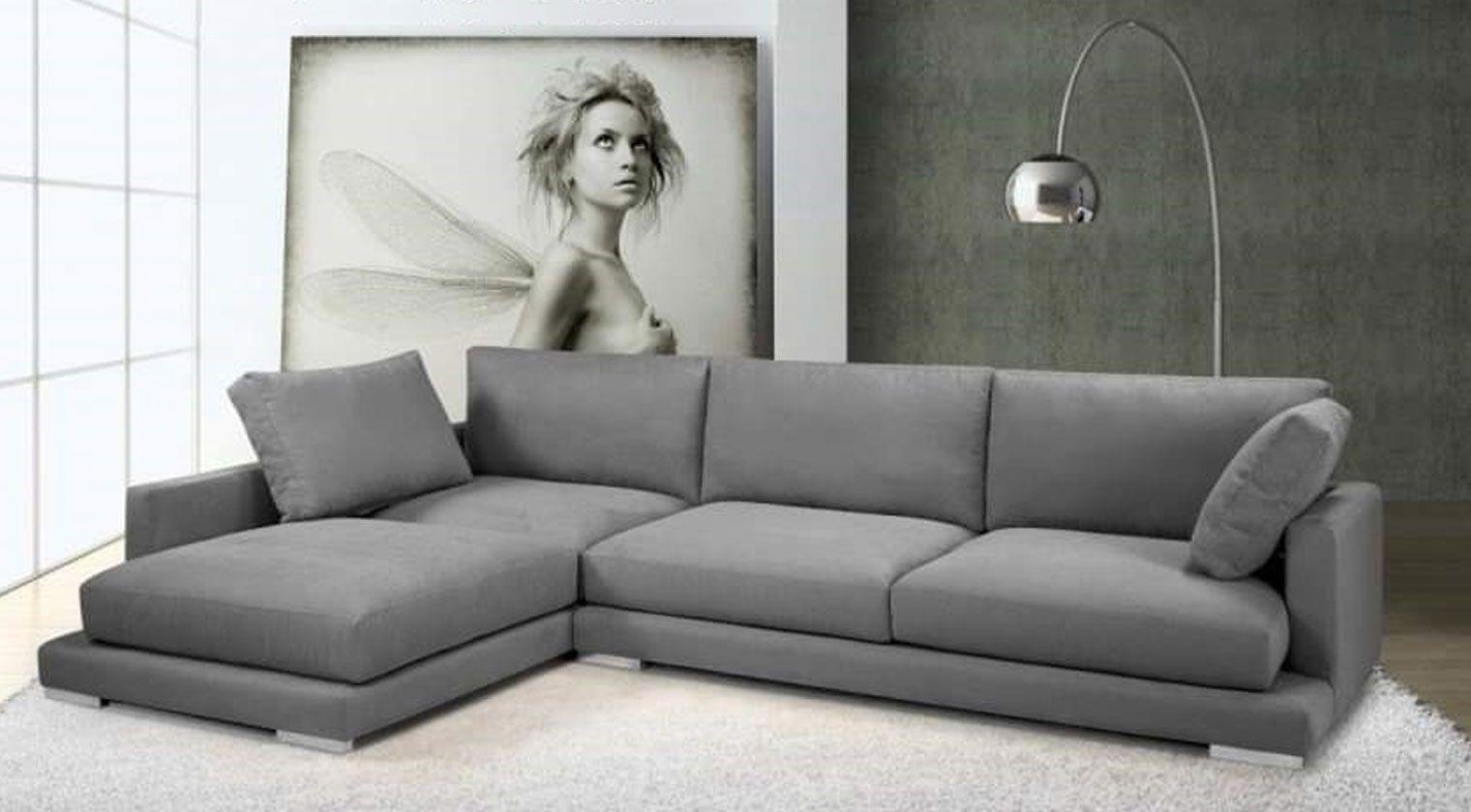 Chaise longue tela perseo chaise longue tela for Sofa extensible 4 plazas