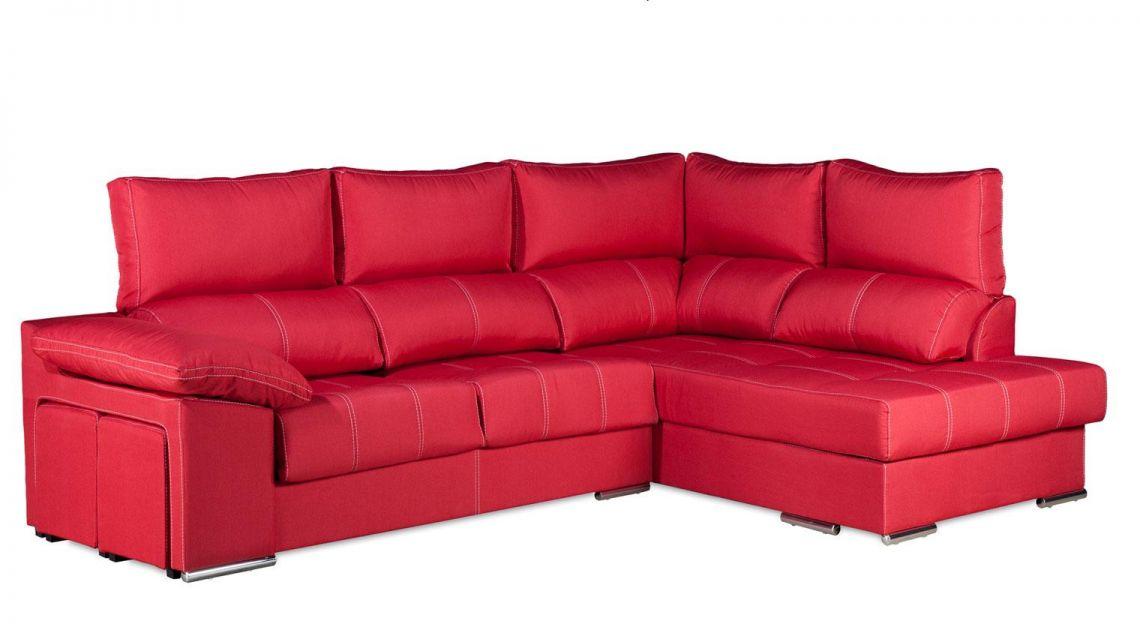 Comprar chaise longue duplo sof 4 plazas microfibra mozart for Sofas 4 plazas baratos