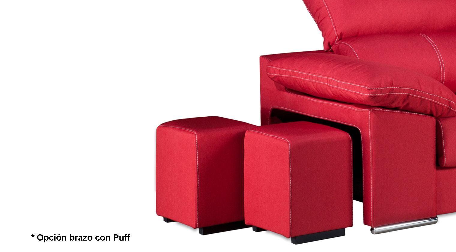 Comprar chaise longue duplo sof 4 plazas microfibra mozart for Chaise longue 4 plazas baratos