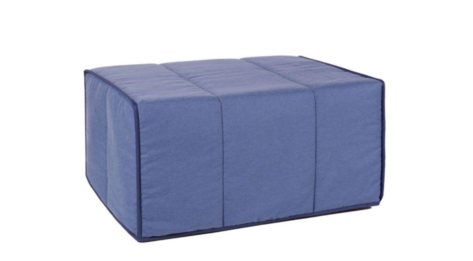 Puff cama 80 pouffs interiores - Puff convertible cama ...