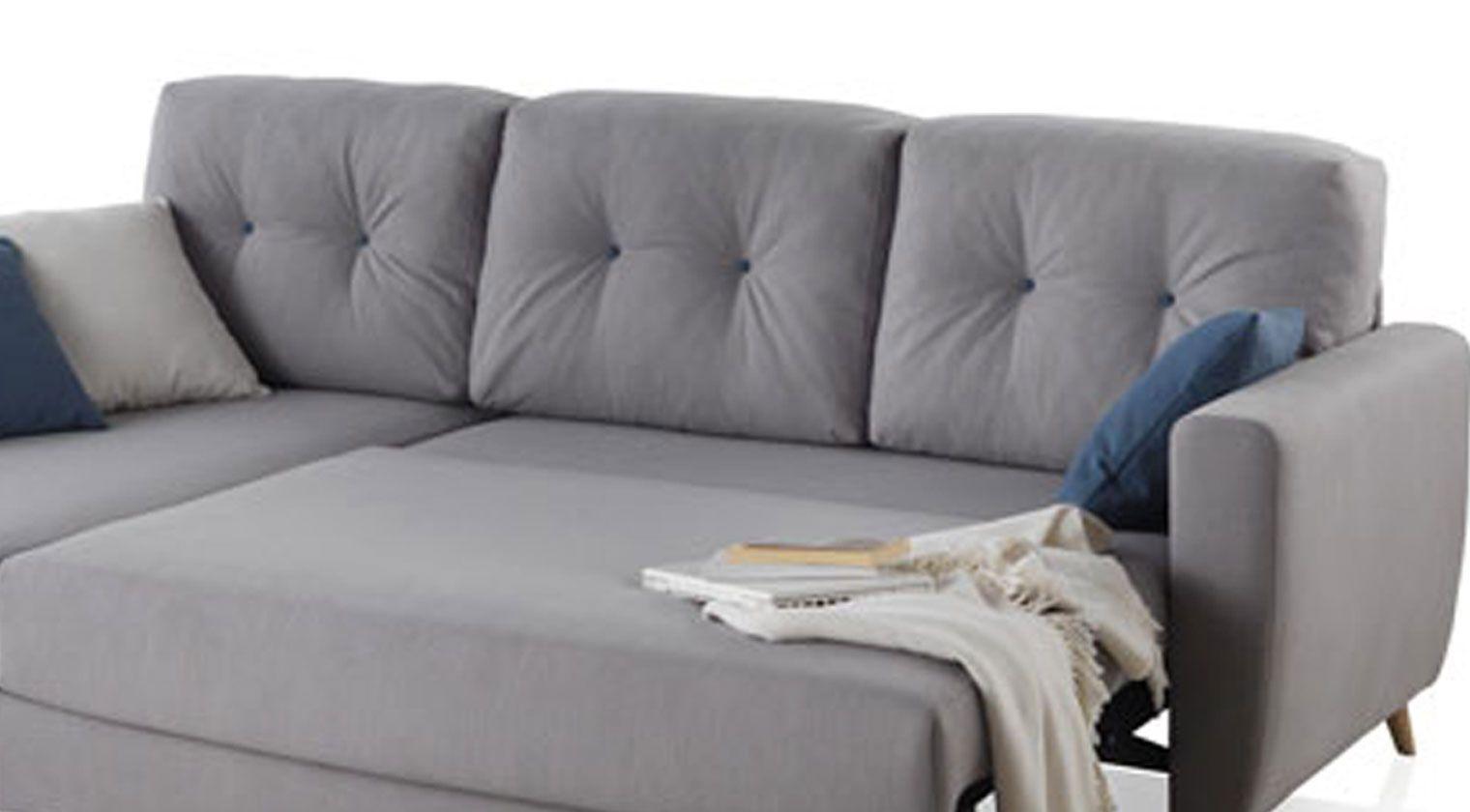 Chaise longue cierzo sofas cama extensible nido - Sofa extensible ...