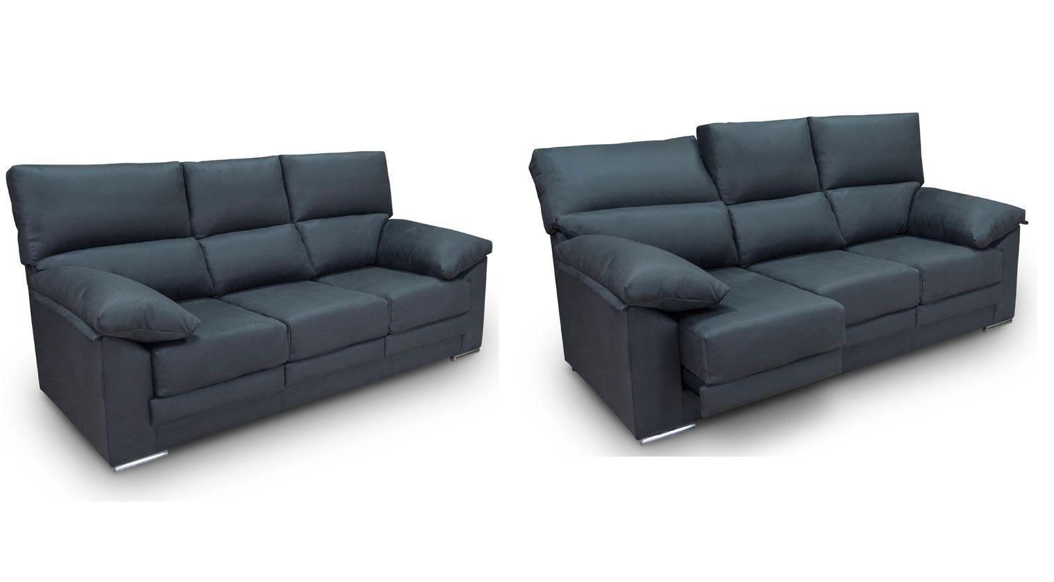 Comprar sof tela elgon conjunto sofas 3 2 plazas tejido for Sofas baratos asturias