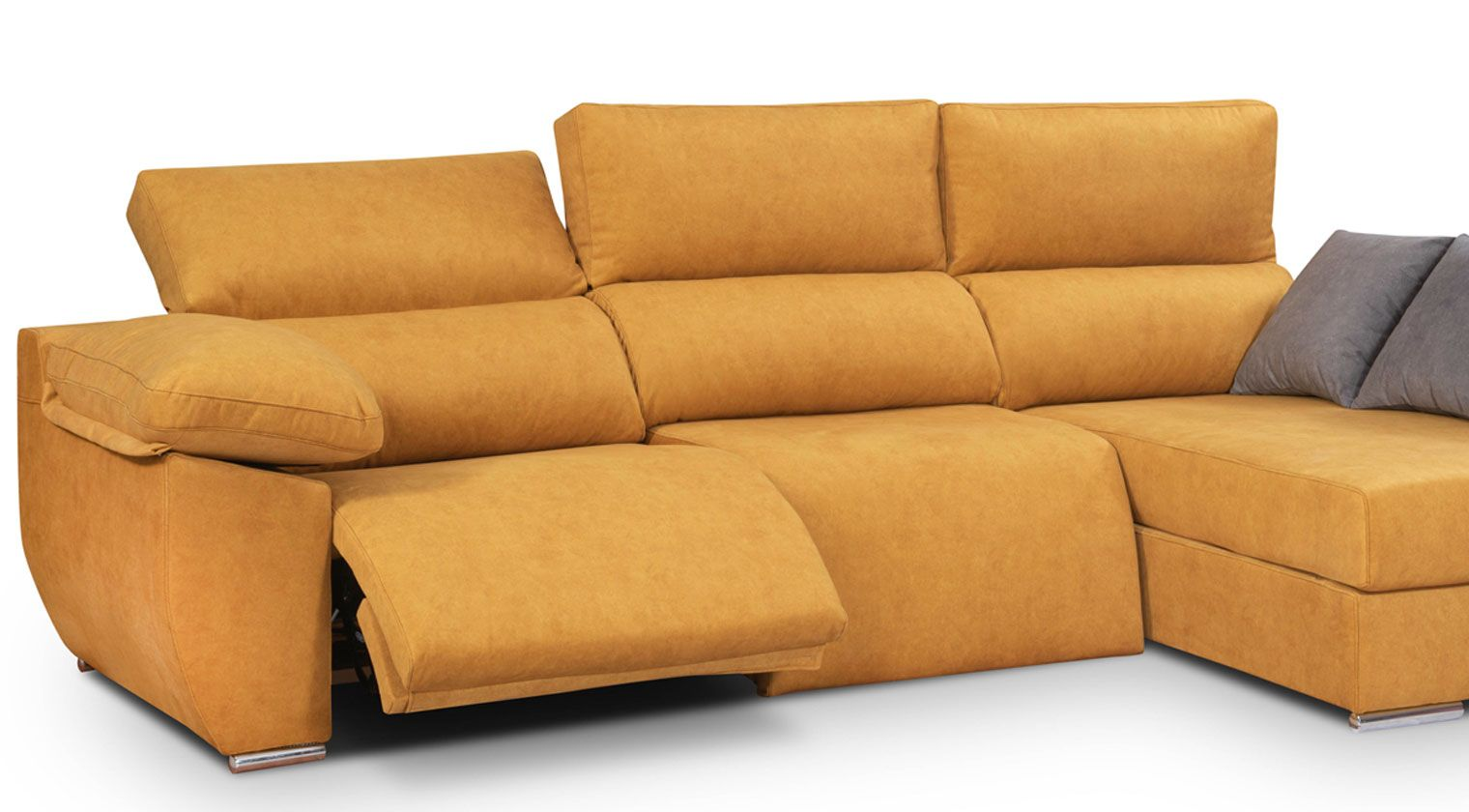 Comprar chaise longue tela faure chaiselongue derecha for Chaise longue interiores