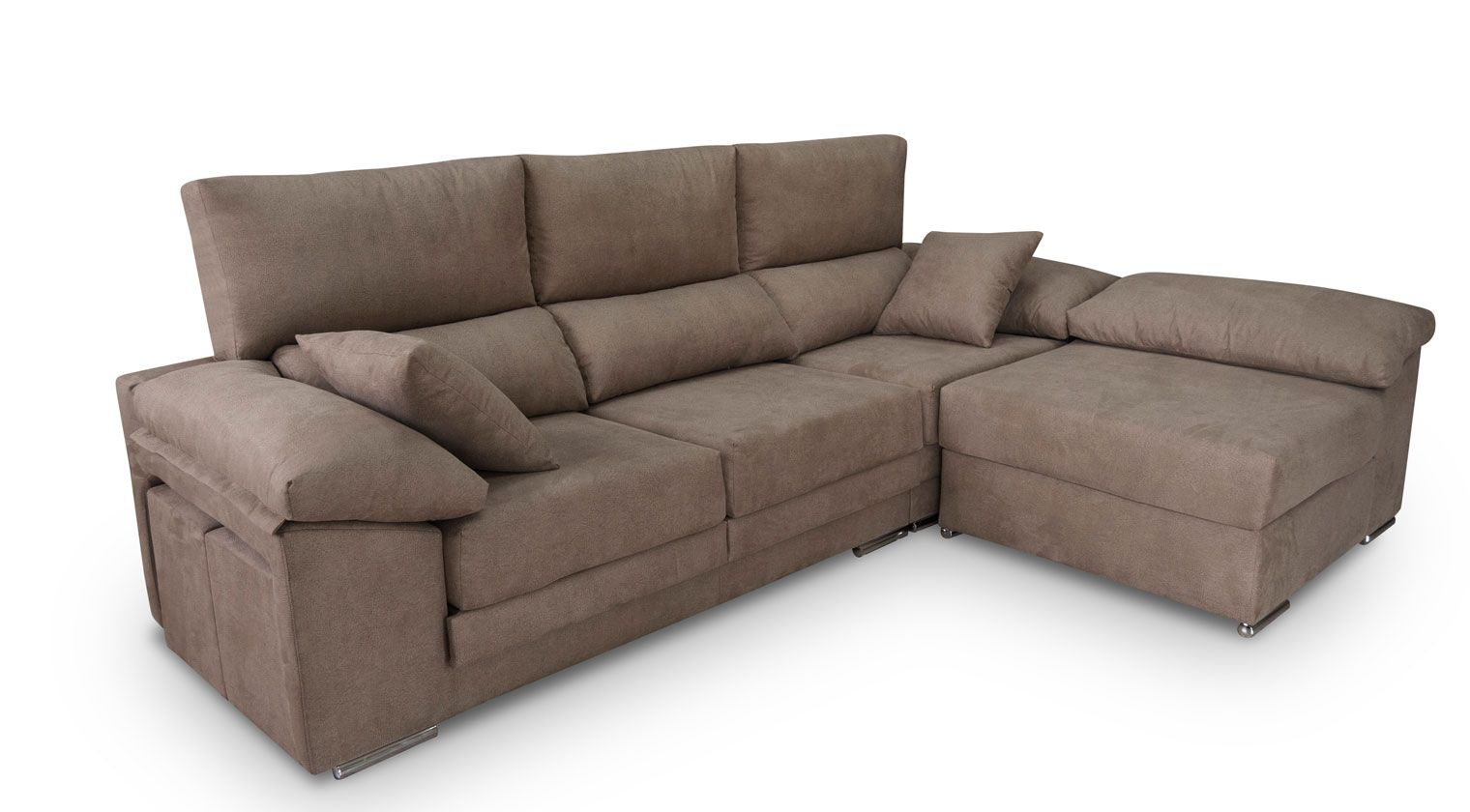 Sofas chaise longue baratos almeria sofa menzilperde net for Sofa cama nido barato