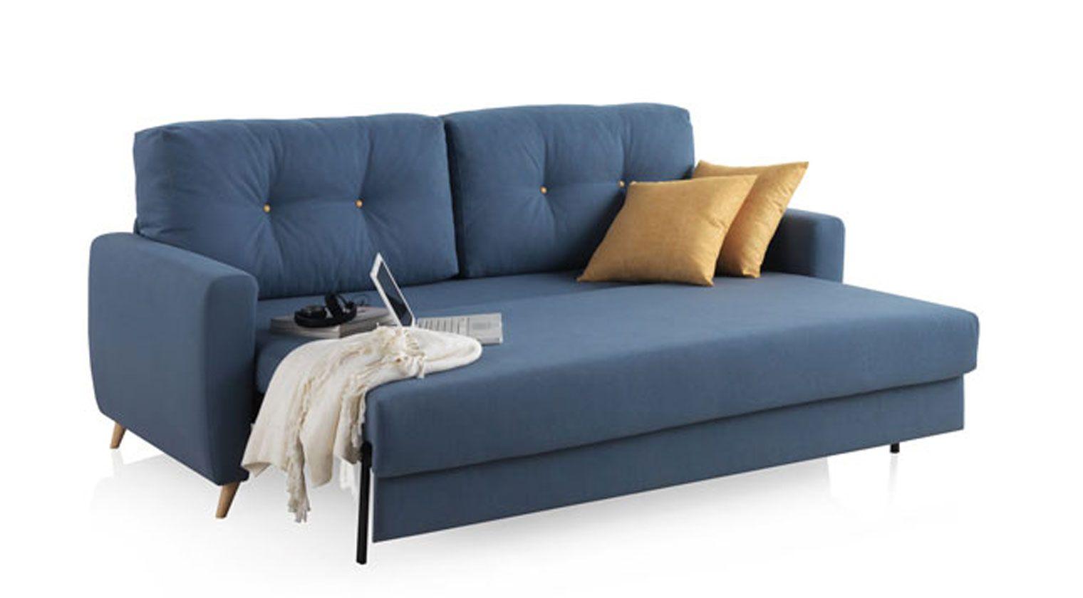Comprar sof cama nice 1 plaza cama de 80x190 cm aire for Divan 80x190