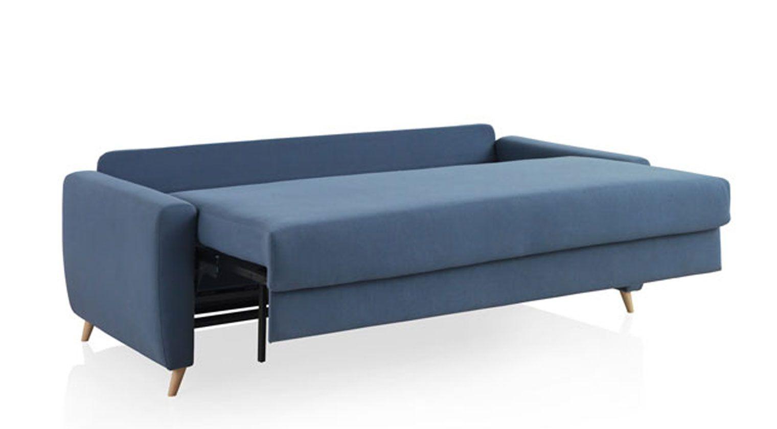 Comprar sof cama nice 1 plaza cama de 80x190 cm buzo for Sofas baratos asturias