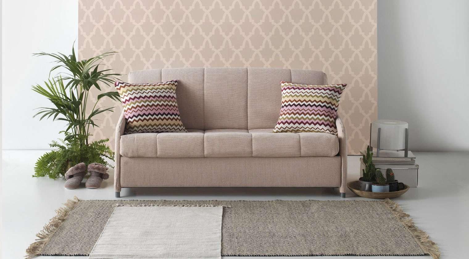 Comprar sof cama dijon 2 plazas cama de 135x190 cm aire for Sofas baratos asturias
