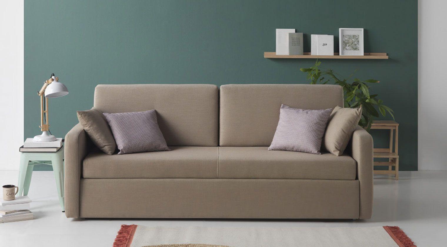 Comprar sof cama tours 2 plazas cama de 120x190 cm bonus for Cama 120x190