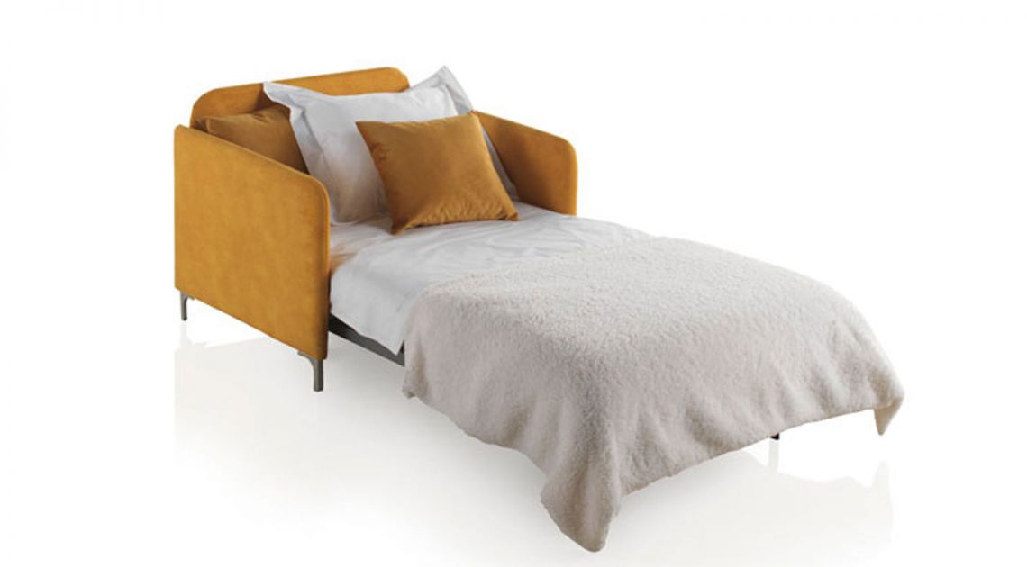 Comprar sof cama nancy 1 plaza cama de 80x190 bonus for Puff cama 1 plaza