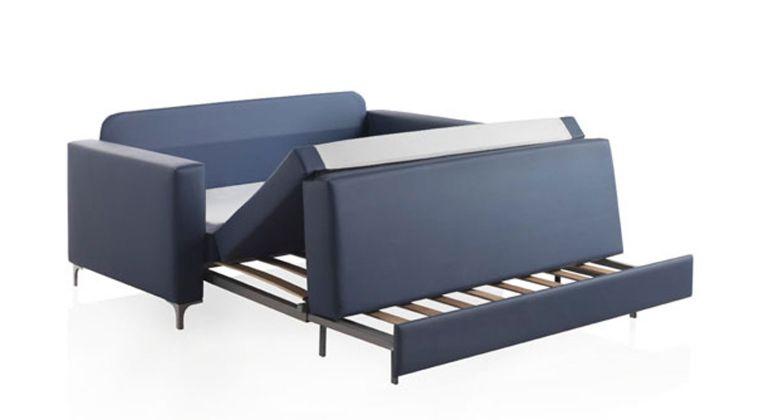 Comprar sof cama brest 1 plaza cama de 80x190 cm buzo for Sofa cama de una plaza