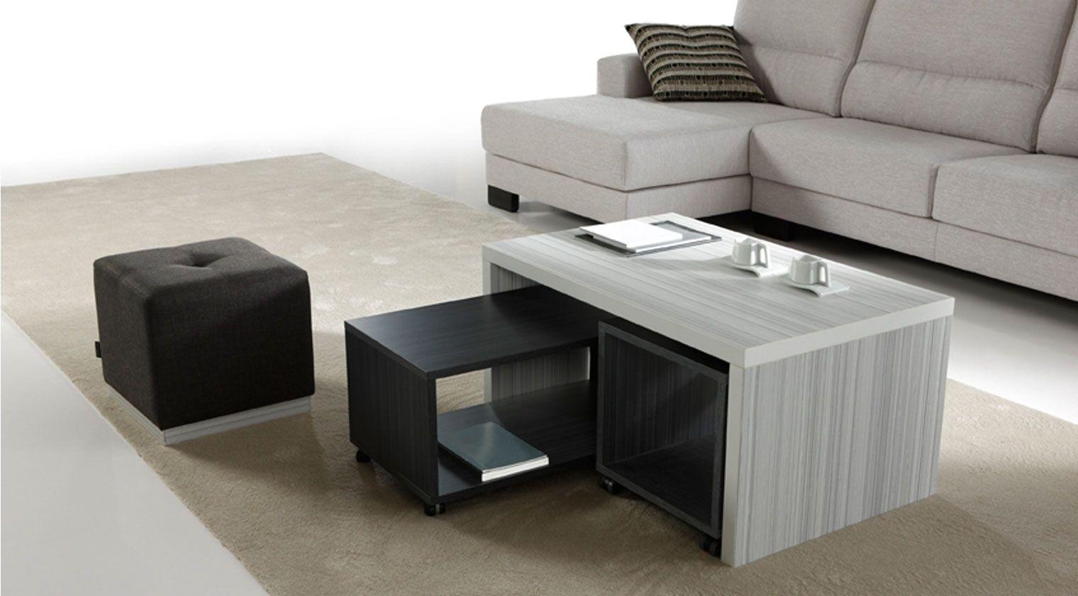 Mesas de sofa modernas latest mesa de centro moderna uriel material madera de palisandro existe - Mesas de sofa ...