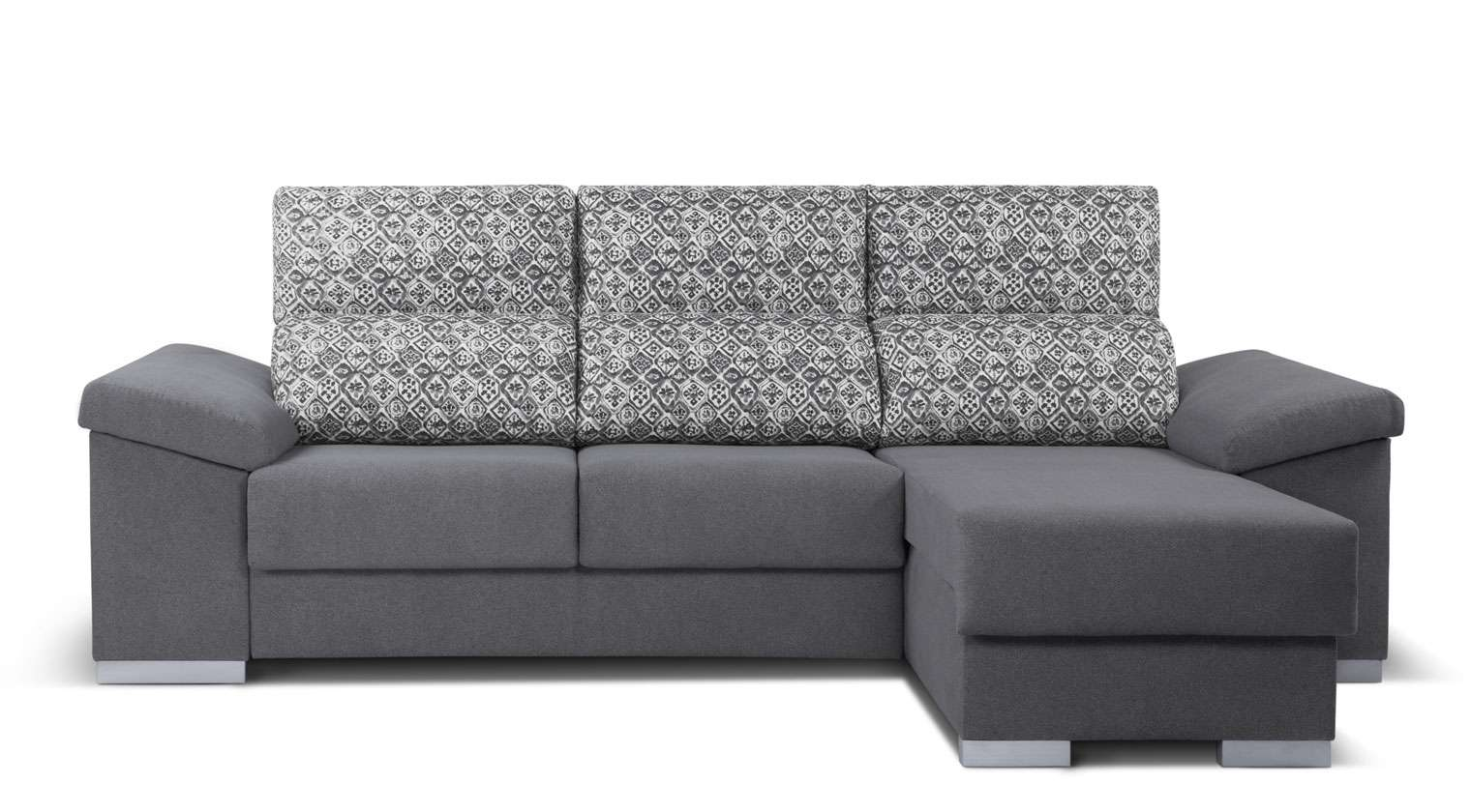 Comprar chaise longue tela belen chaiselongue drcha 3 for Chaise longue baratos