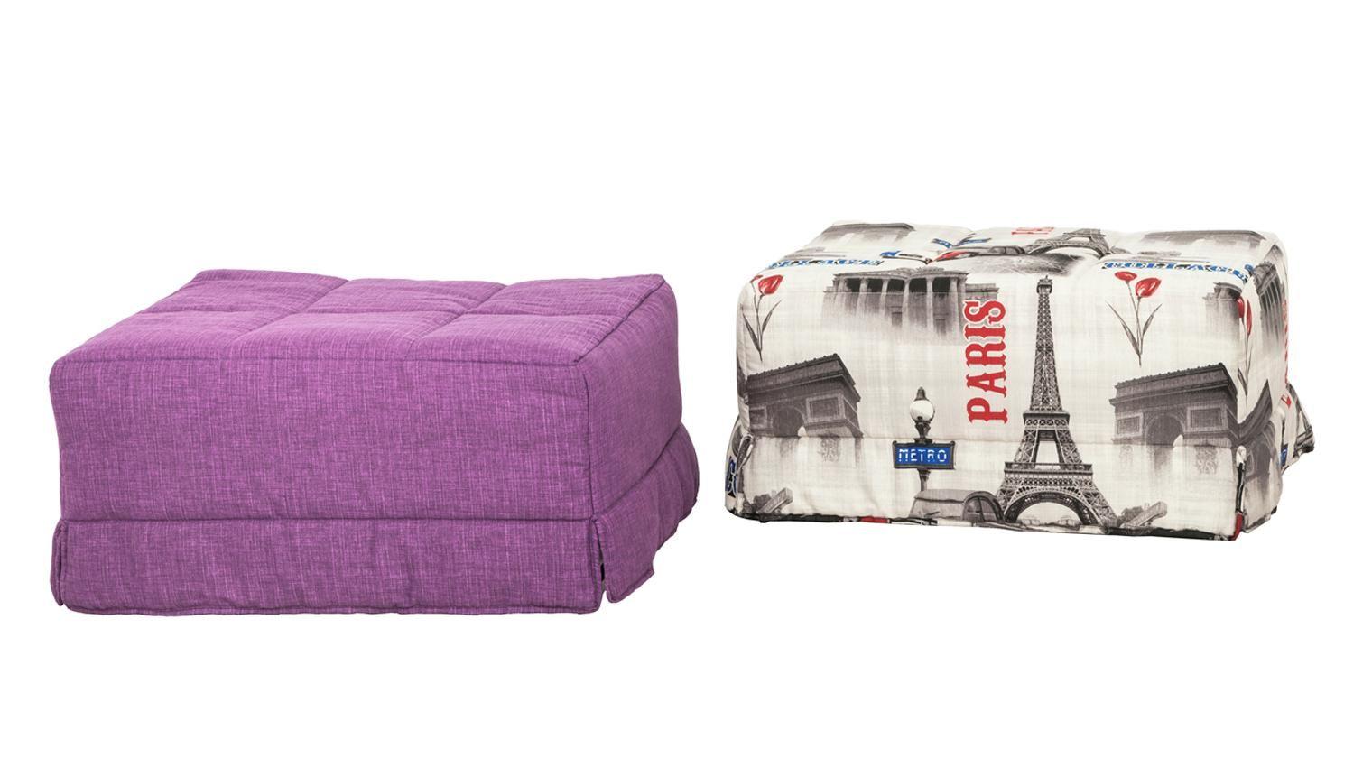 Comprar puff confort puff cama 80x180 loneta levante for Cama 80x180