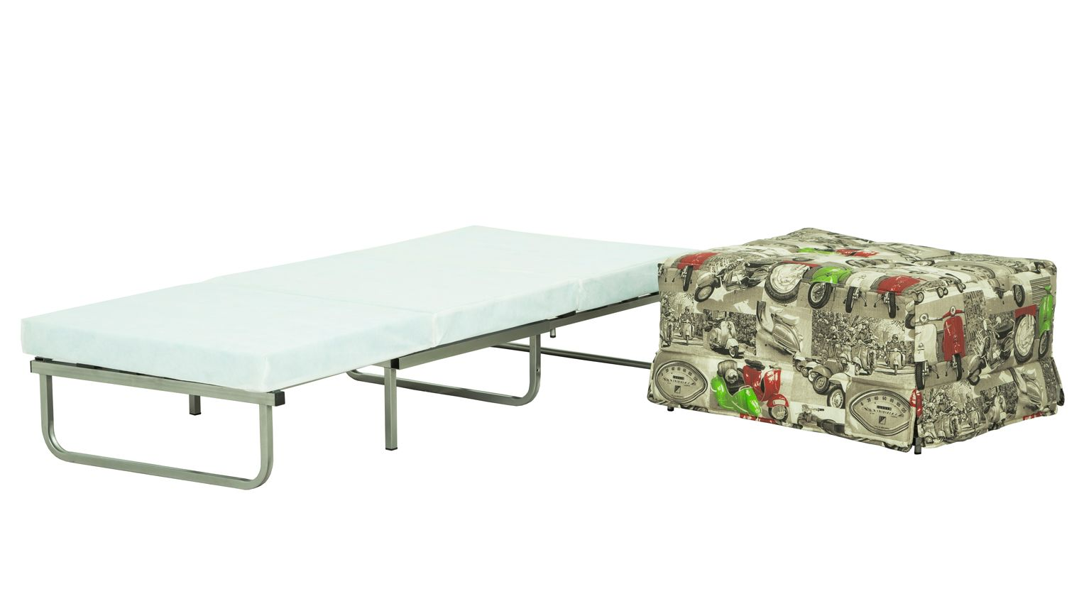 Comprar puff confort puff cama 80x180 loneta estampada for Cama 80x180