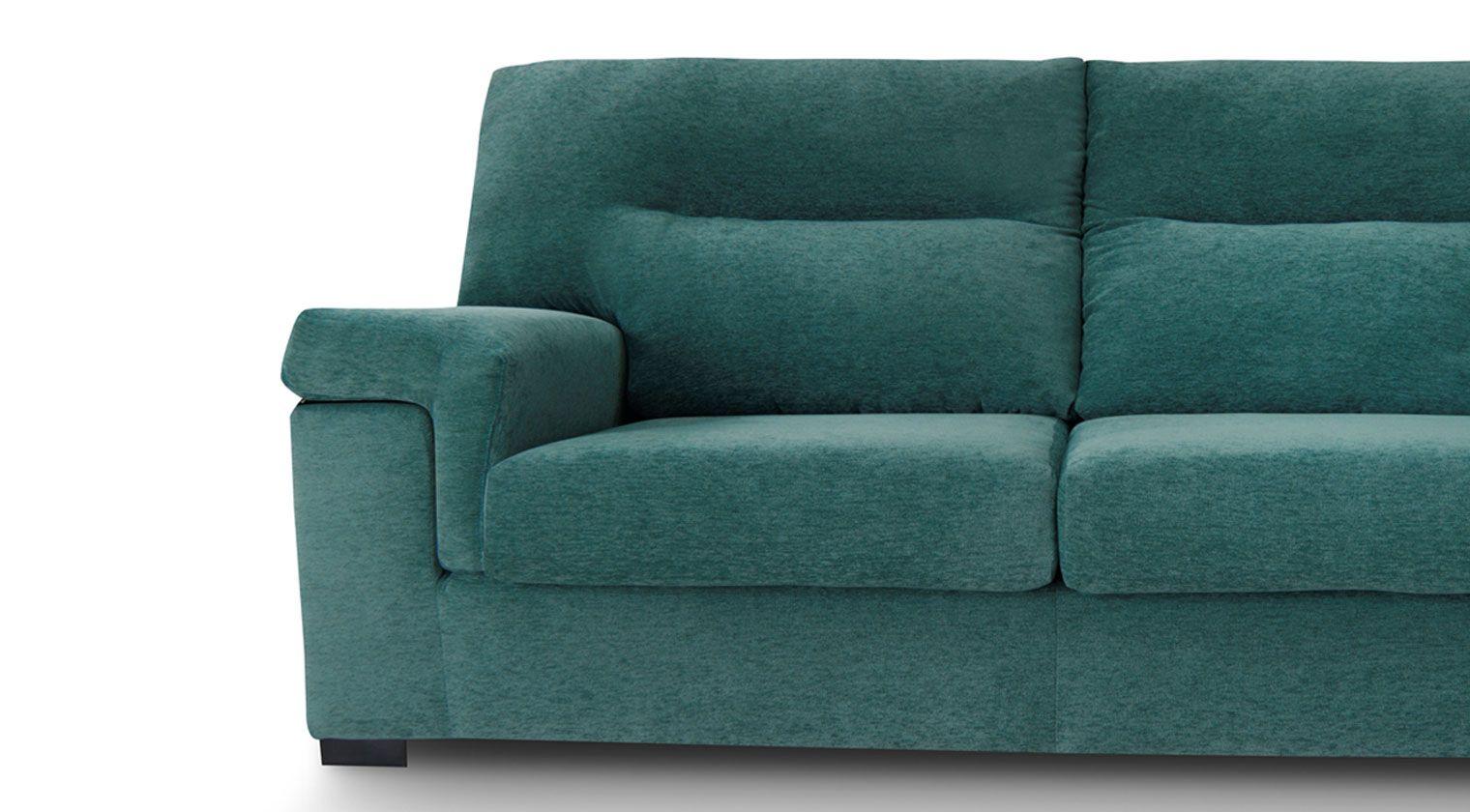Comprar sof tela okio sof 3 plazas deslizante microfibra - Sofas de microfibra ...