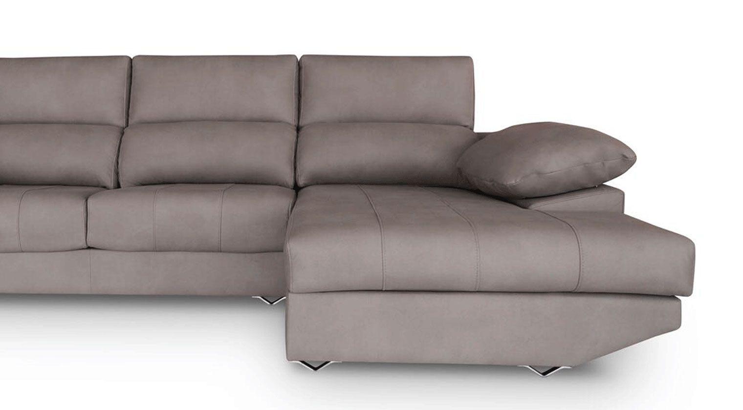 Comprar sof tela invictus chaise longue 4 plazas for Sofas baratos alicante