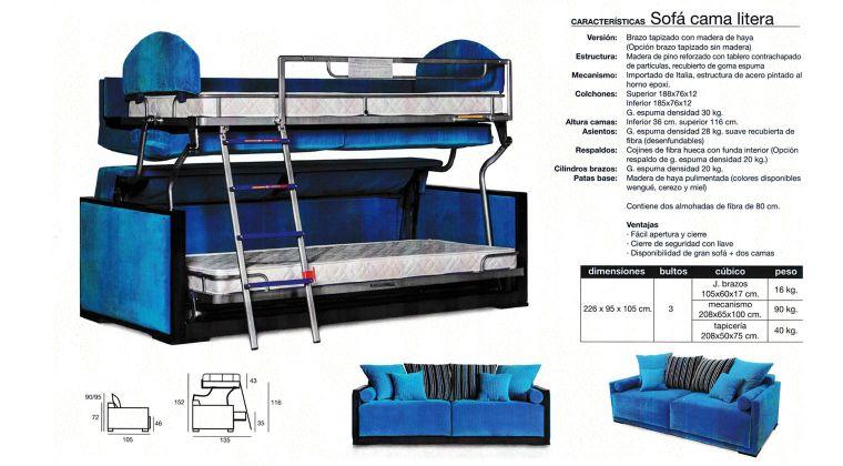 Sofa cama litera carrefour - Litera sofa cama de matrimonio ...
