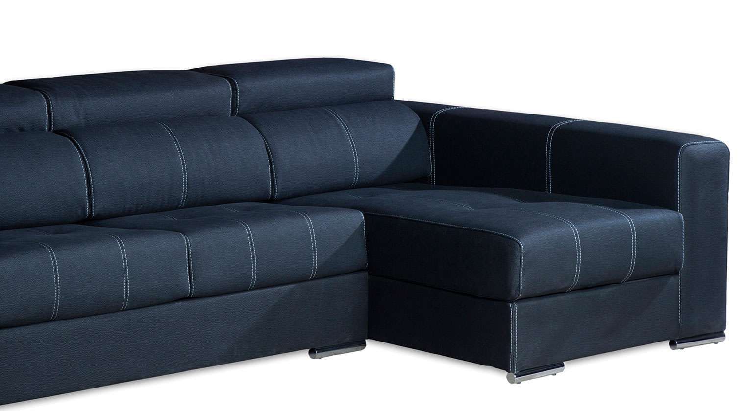 Comprar chaise longue valencia sofa 4 plazas microfibra mozart for Sofa extensible 4 plazas