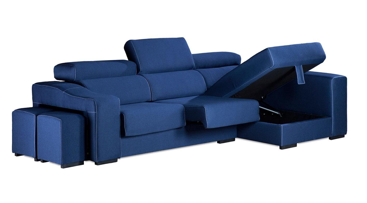 Comprar chaise longue bilbo sofa 4 plazas tela kapadokia for Sofas baratos asturias