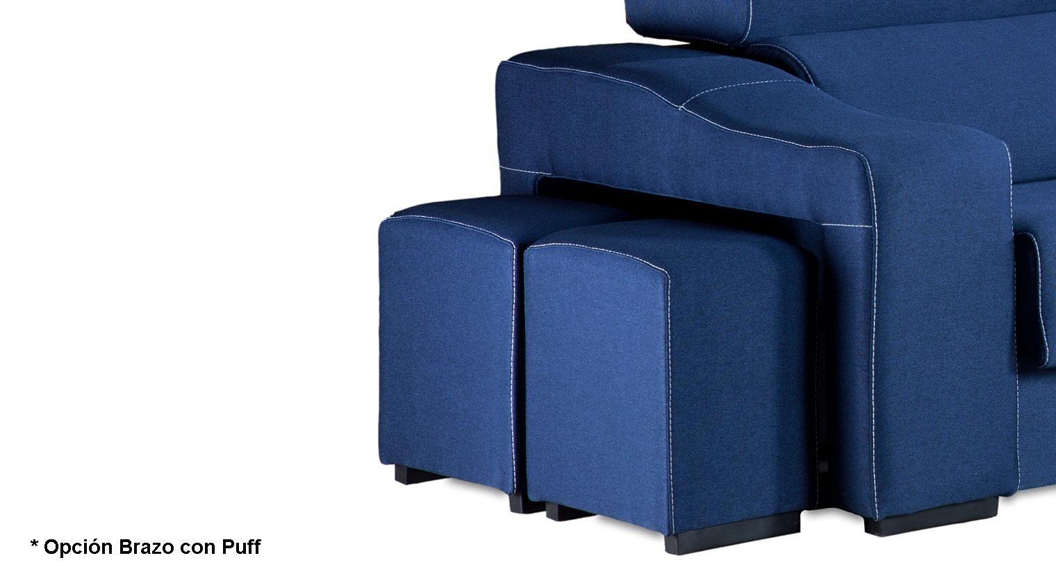 Comprar chaise longue bilbo sofa 4 plazas ecolipiel chekko for Chaise longue 4 plazas baratos