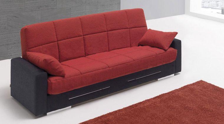 Sof cama benidorm la tienda del sofa for Sofa cama libro con arcon